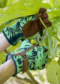 Садовые перчатки женские для работы с растениями Tropical Love the Glove от Burgon Ball фото