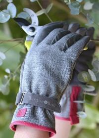 Перчатки садовые женские Grey Tweed Love the Glove Burgon & Ball картинка