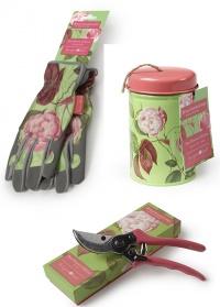 Подарочный набор садовых аксессуаров Rosa Chinensis Collection Burgon & Ball