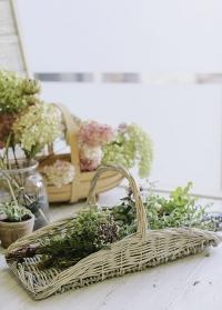 Корзина из ивового прута для сбора цветов и трав MW45 Esschert Design фото