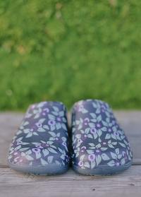 Галоши женские из эва Plum Floral Briers фото.jpg