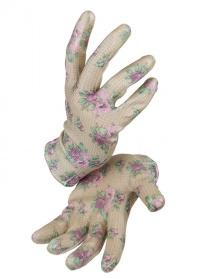 Перчатки садовые с нитрилом GGRRH Roses Collection GardenGirl фото