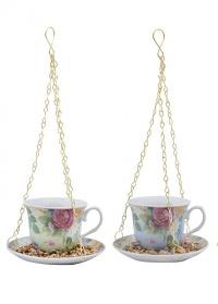 Кормушка для птиц «Чайная пара» Esschert Design