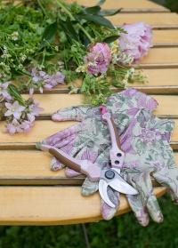 Перчатки садовые с нитрилом Chelsea Collection GardenGirl RRH30 фото