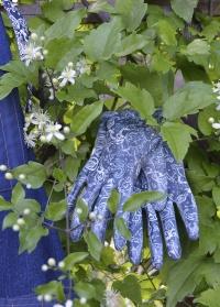 Перчатки садовые с нитрилом Denim Collection RRH12 GardenGirl фото