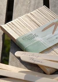 Деревянные таблички для рассады и названий растепний Burgon & Ball фото