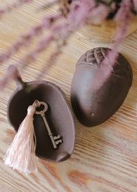 Ключница чугунная Желудь LH165 Esschert Design фото