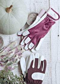 Перчатки садовые из козьей кожи Classic Collection GardenGirl