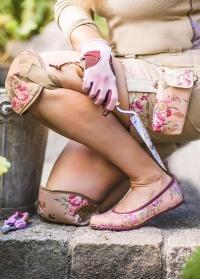 Балетки резиновые GardenGirl Classic Collection