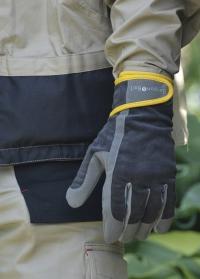 Перчатки мужские рабочие Dig The Glove Slate Corduroy Burgon & Ball