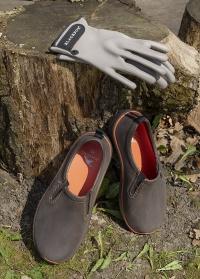 Туфли мужские из эва для сада и дачи DERBY Brown AJS-Blackfox фото