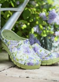 Женские галоши из эва цветные Lily Lime Green AJS-Blackfox фото