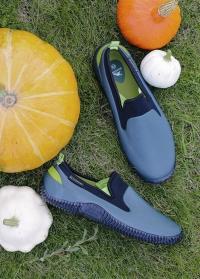 Туфли садовые мужские для дачи и отдыха на природе NEO Green AJS-Blackfox фото