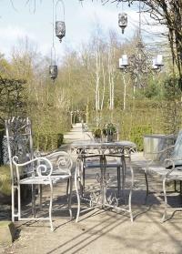 Стул садовый Aged Metal Esschert Design