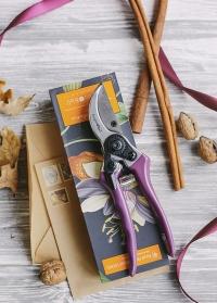 Секатор садовый Passiflora Collection в подарочной упаковке Burgon & Ball фото