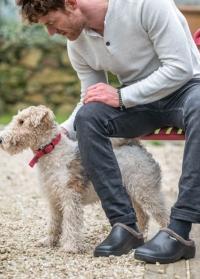 Галоши мужские из эва утепленные черные Black Oslo AJS-Blackfox фото