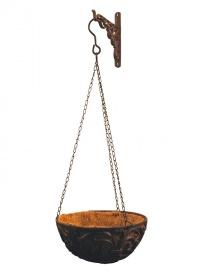 Декоративный настенный кронштейн для подвесных кашпо BPH29 Esschert Design фото