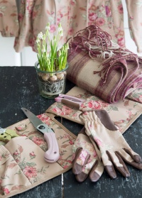 Перчатки садовые универсальные Classic Collection GardenGirl GSG02 фото