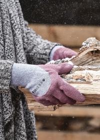 Перчатки утепленные для работы в саду Cosy Gardener Aubergine S Briers фото