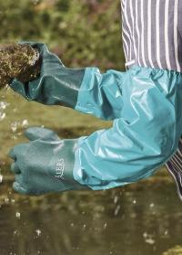 Перчатки резиновые с длинными манжетами Briers фото.jpg
