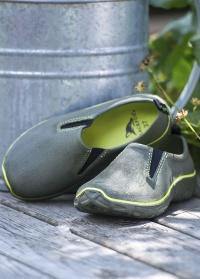 Легкие туфли дачные из эва DERBY Khaki  AJS-Blackfox фото
