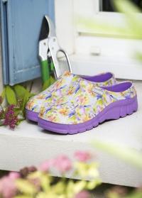 Галоши из эва женские фиолетовые Lily Violet AJS-Blackfox (Франция) фото