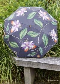 Зонт складной английский Passiflora Burgon & Ball фото 2.jpg