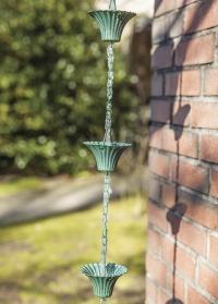 Дождевая цепь для водостока Медь TH88 Esschert Design фото
