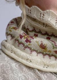 Шарф-хомут вязаный GardenGirl Classic Collection