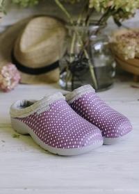 Теплые галоши эва для дачи и загородного дома Cosy Pink от французского бренда AJS-Blackfox фото