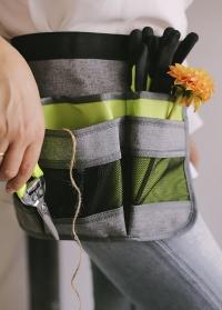 Подарок мужчине-садоводу пояс для инструментов AJS-Blackfox фото