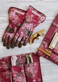 Утепленные садовые перчатки GardenGirl Classic Cherry WWG22 фото