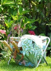 Садовый стульчик с сумкой для инструментов Rose Esschert Design