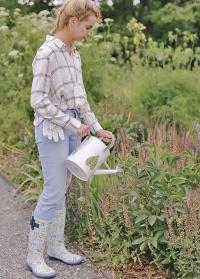 Сапоги резиновые женские для города Lavender Garden Briers фото.jpg