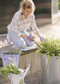 Коврик под колени для  садовых работ Lavender Garden Briers фото.jpg