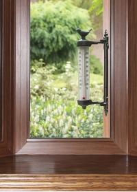 Оконный термометр для дачи и дома Птичка BR20 Esschert Design фото