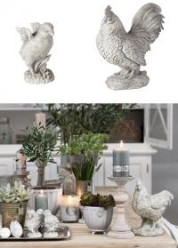 Декор садовый «Петух» Lene Bjerre