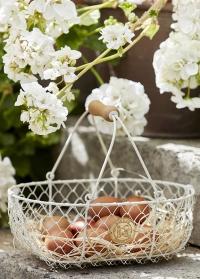 Металлическая корзина для яиц Burgon & Ball фото.jpg