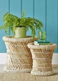 кашпо для комнатных цветов из керамики Burgon & Ball фото.jpg