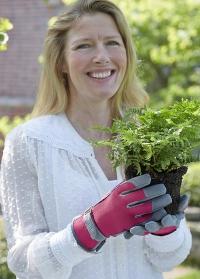 Перчатки для сада и огорода Raspberry Sophie Conran Burgon & Ball фото.jpg