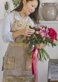 Фартук флористический в розочку GardenGirl Roses Collection GGFK фото.jpg