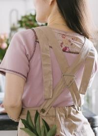 Одежда флориста - футболка из хлопка GardenGirl GGT05 фото.jpg