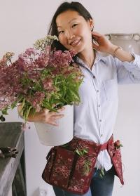 Сумка-пояс для инструментов флориста GardenGirl Cherry BA22 фото.jpg