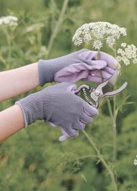 Набор флористических перчаток из хлопка и нитрила Vintage Floral Briers фото.jpg