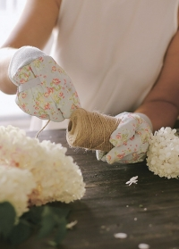 Набор флористических перчаток из хлопка с пупырышками Flower Girl Briers B6960 картинка.jpg