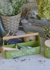 Ящик для инструментов флориста металлический Garden Suppliers Burgon & Ball фото.jpg