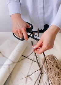 Японские флористические ножницы Florist MF-9000B Chikamasa фото