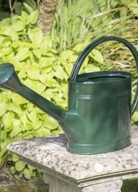 Английская лейка для полива садовых растений 5 л Green Burgon Ball фото.jpg