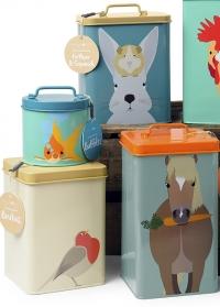Емкости для хранения сухого корма животных Creatureweares Burgon Ball фото.jpg