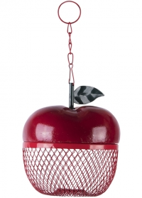 Декоративная кормушка для птиц подвесная Яблоко FB425 Esschert Design фото